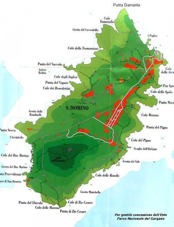 Cartina Geografica Delle Isole Tremiti.Isole Tremiti Cartina E Morfologia